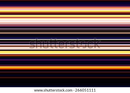 Multicolored abstract pattern of parallel stripes for themes of variety and regularity - stock photo