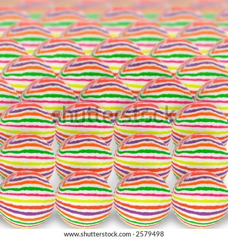 Multicolored ball - stock photo