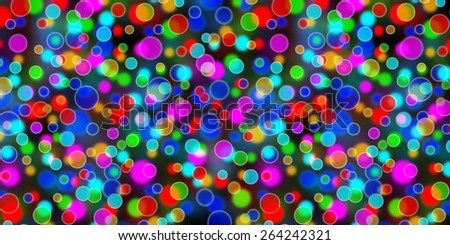 multicolored blur  abstract lights background - stock photo
