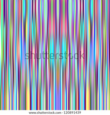 Multicolored bright vertical graduated stripes abstract background. - stock photo