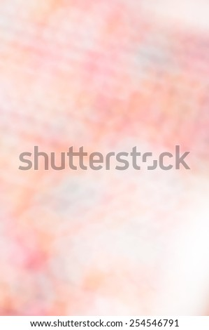 Multicolored defocused bokeh lights background with space for text - stock photo