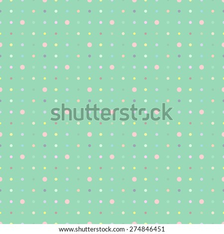 Multicolored dot background point. For pattern fills, web page background, blog. Stylish texture.