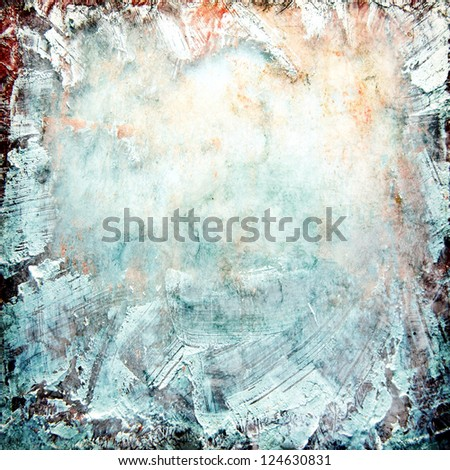 multicolored grunge texture ; abstract background - stock photo