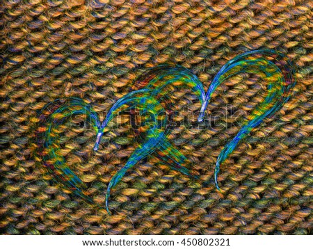 multicolored heart lovely grunge background