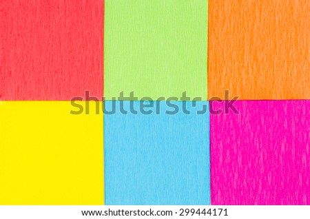 multicolored paper squares background texture