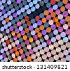 Multicolored sequin background - stock photo