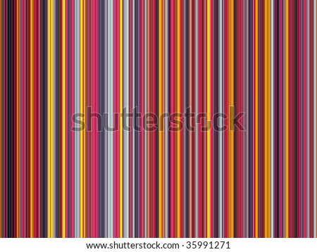 Multicolored vertical strips