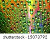 multicolored waterdrops - stock photo