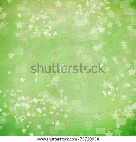 multicoloured backdrop for greetings or invitations with stars - stock photo
