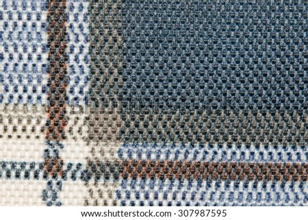 Multie color fabric texture samples