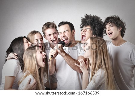 Multiethnic Friends - stock photo