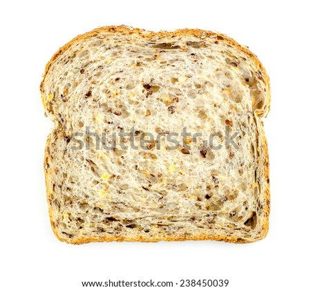 Multigrain bread - stock photo