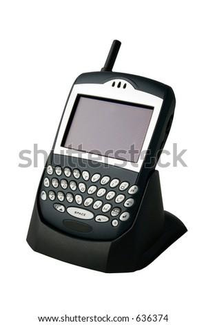 multimedia phone / handheld PC - stock photo