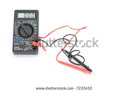 multimeter - stock photo