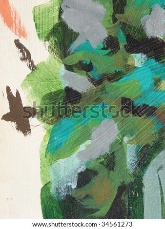 multiple color abstract paint background