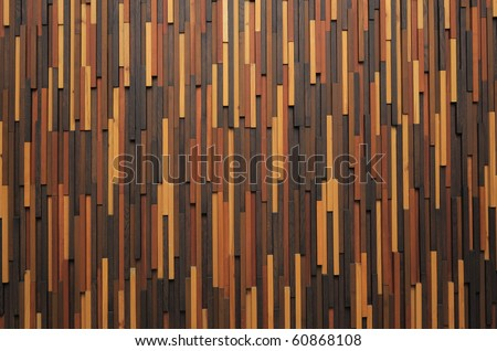 multiple color wood texture stripe patterns - stock photo