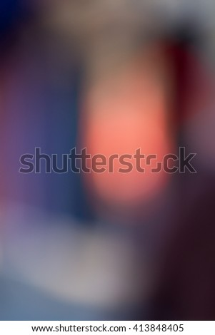 Multiple colors in an out of focus background - stock photo