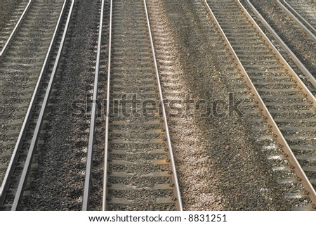 multiple railway tracks