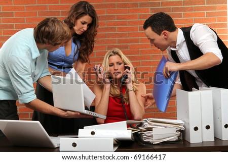 multitasking - stock photo
