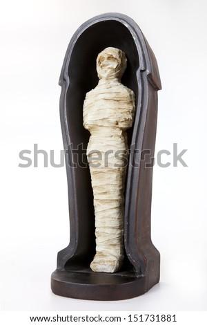 mummy - stock photo