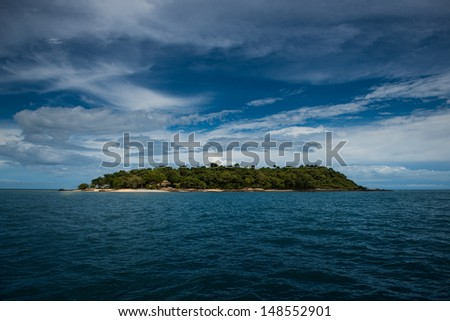 Mun Nok Island, Rayong. Good for tourism - stock photo