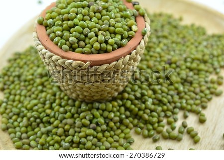 Mung bean is a plant species in the legume family. It is used as an ingredient in both savory and sweet dishes.