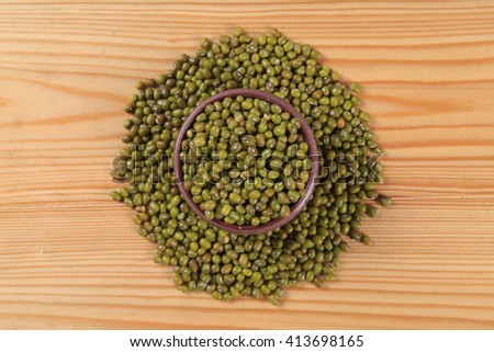 mung beans - stock photo