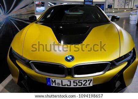 Munich Germany May 19 2018 Bmw Stock Photo Edit Now 1094198657