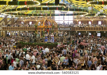 MUNICH GERMANY- OCTOBER 2 2012 People drinking in the Hippodrom Beer Tent & Oktoberfest Tent Stock Images Royalty-Free Images u0026 Vectors ...