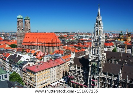 Munich in Germany - stock photo
