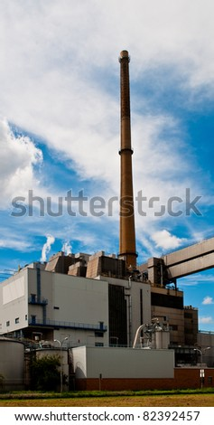 Municipal waste incineration plant in Germany