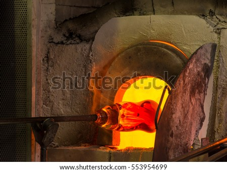 Murano Italy Glass Blowing Furnace, Kiln