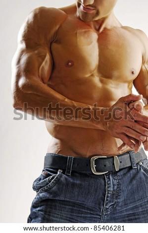 Muscleman - stock photo