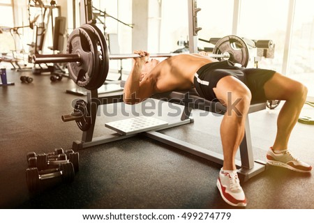 Nude bench press