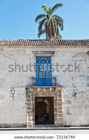 Museum of colonial art, Havana, Cuba - stock photo