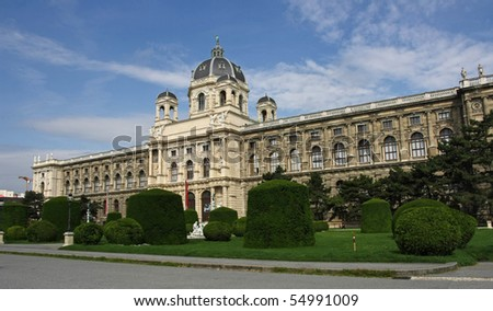 Museum of natural history in Wien