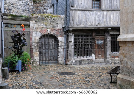 museum of old Honfleur in Normandy