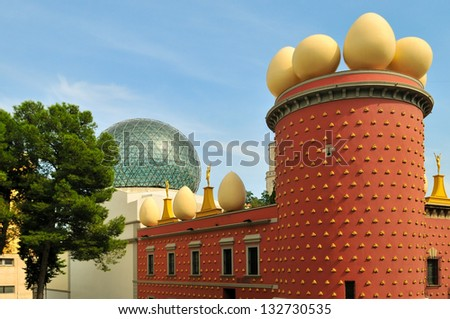 Museum of Salvador Dali in Figueras - stock photo