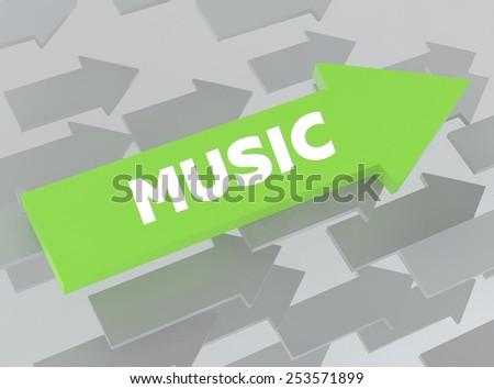 MUSIC - stock photo