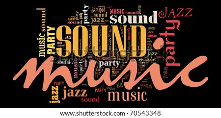 Music and Jazz - stock photo
