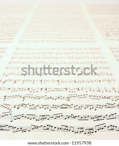music background - stock photo