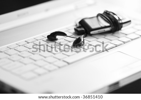 Music concept - stock photo