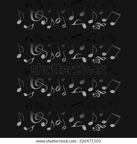 Music dead - stock photo
