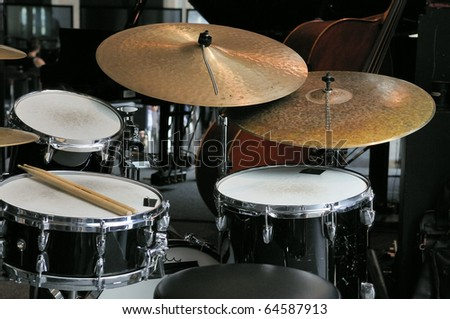 music drums instrument - stock photo