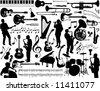 music elements - stock photo
