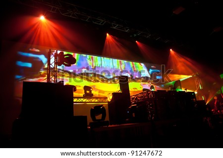 music event party - stock photo