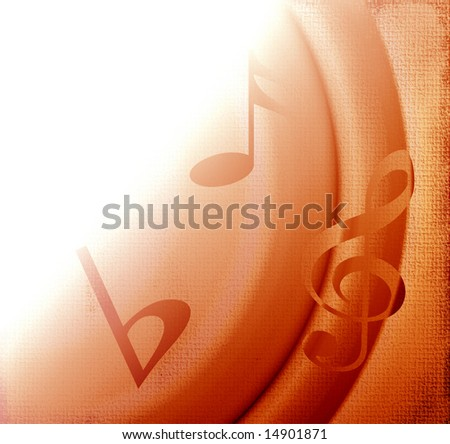 Music Grunge With Copyspace - stock photo