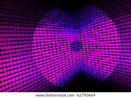 Music Party Background - stock photo