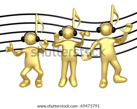 Music People - stock photo