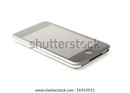 Music Player or Cell Phone - stock photo